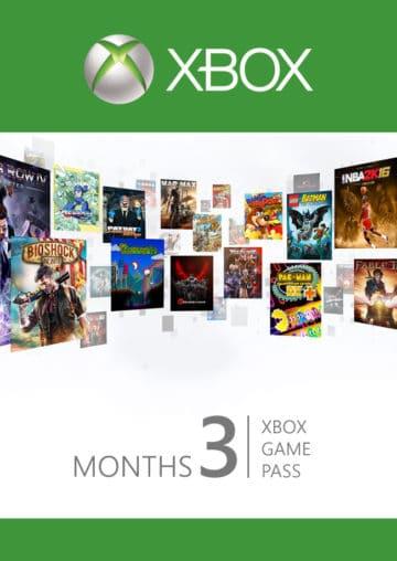 XBOX Game Pass 3 meseca Cena Srbija prodaja
